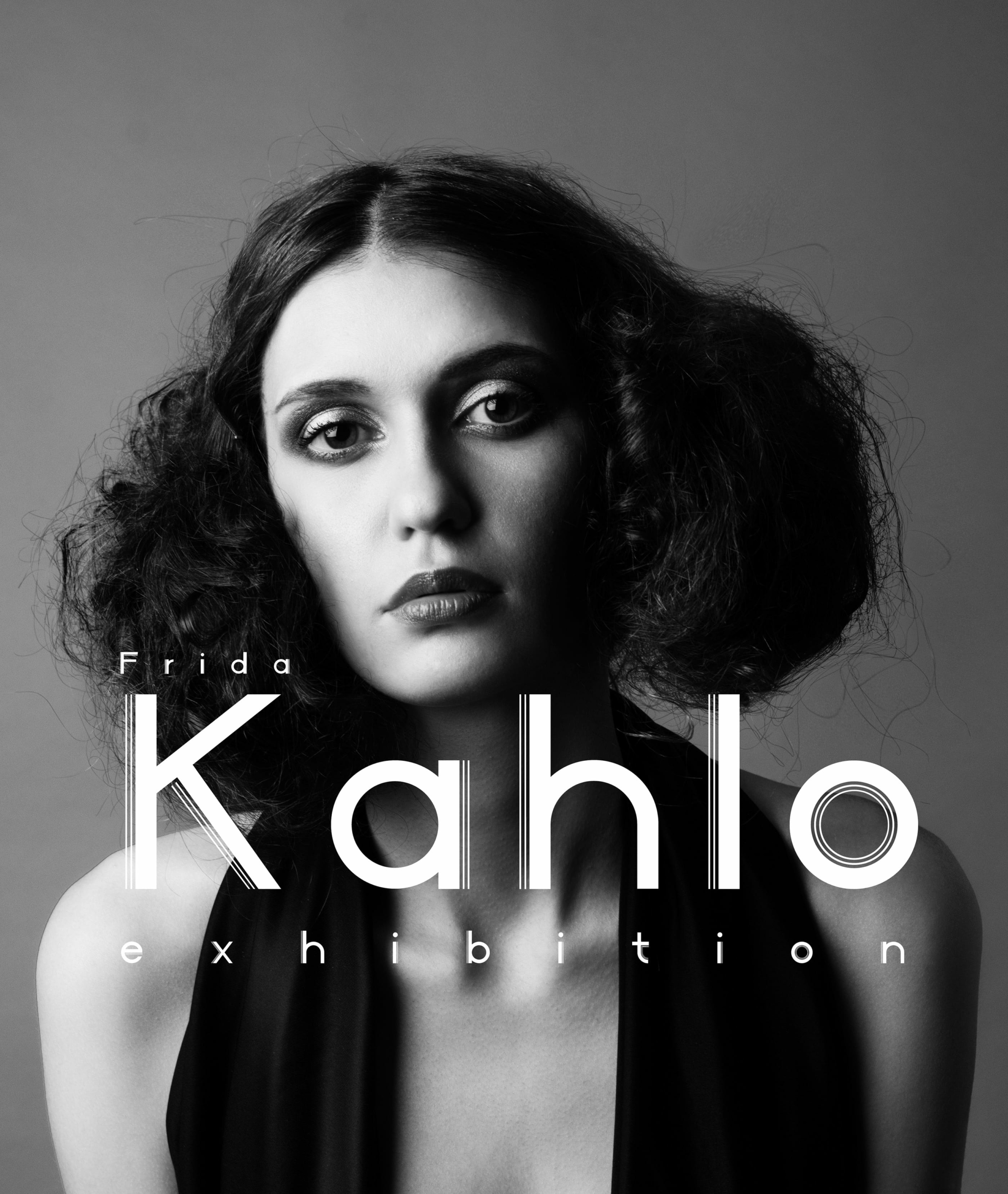 kahlo influenced poster