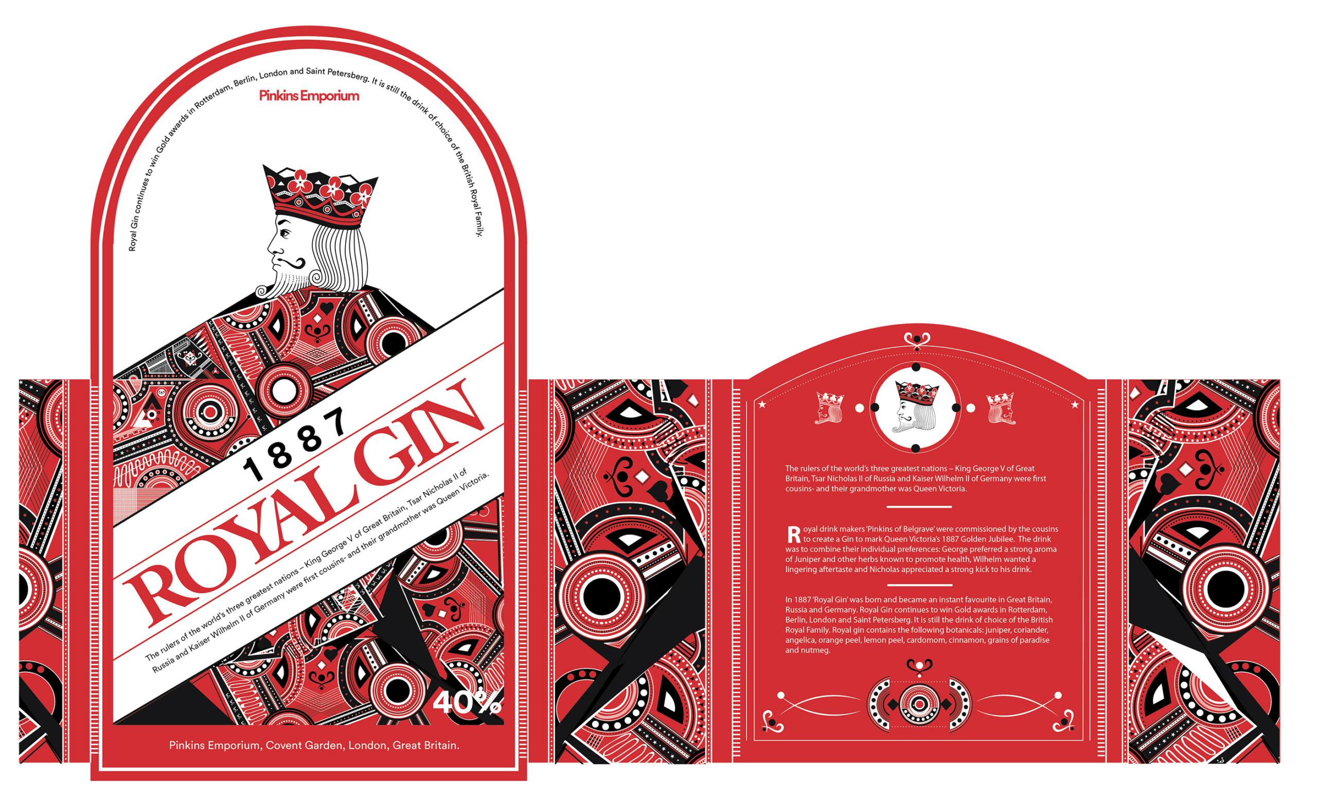 full label design