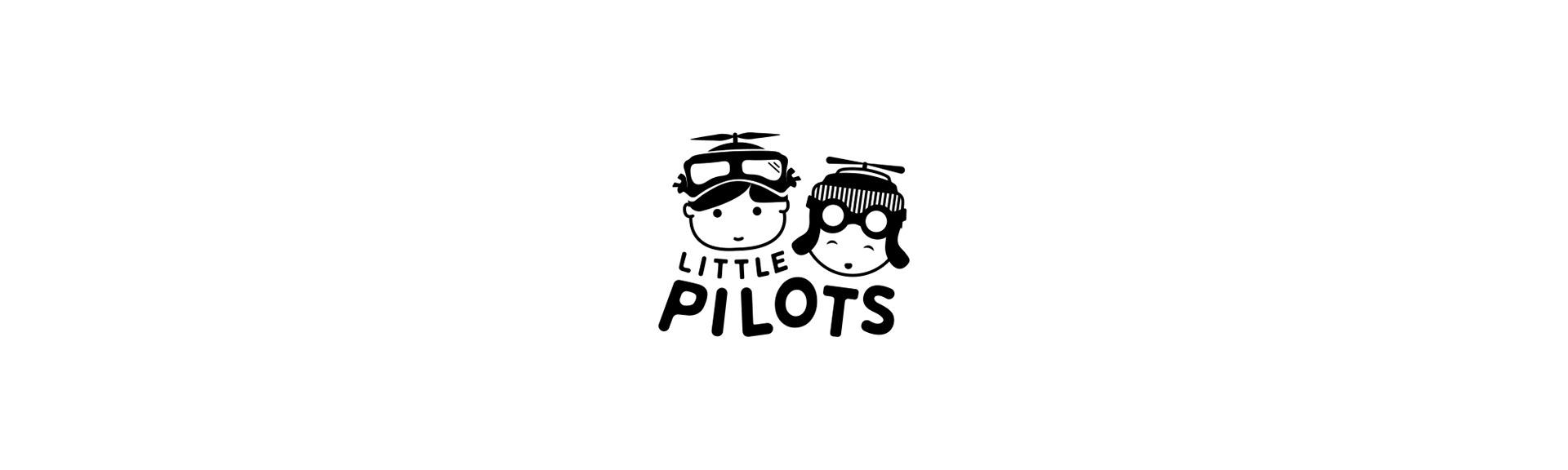little pilots logo black and white