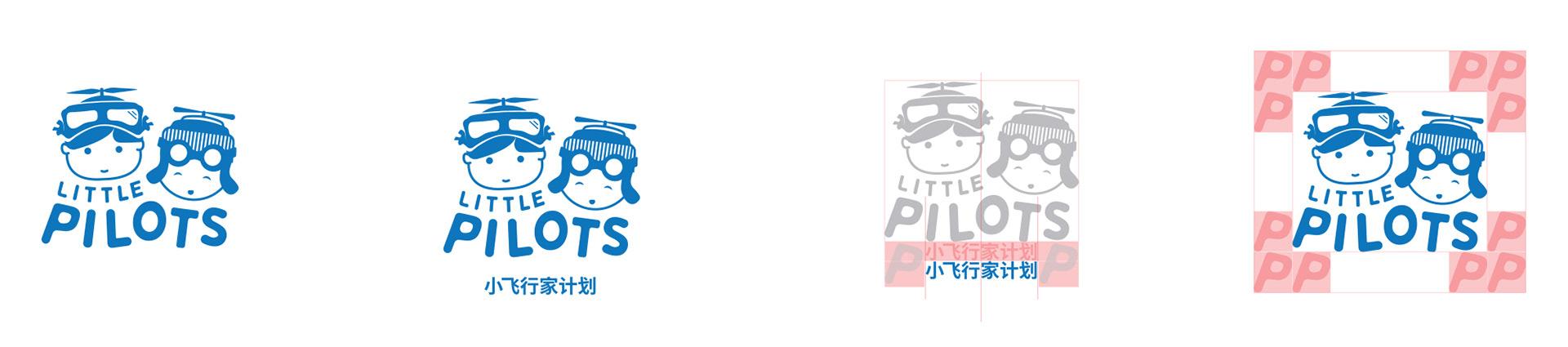 little pilots logo spacing