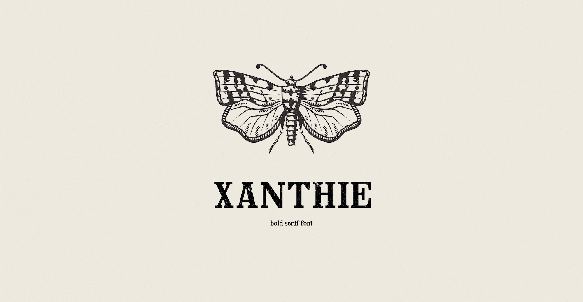 Xanthie font cover