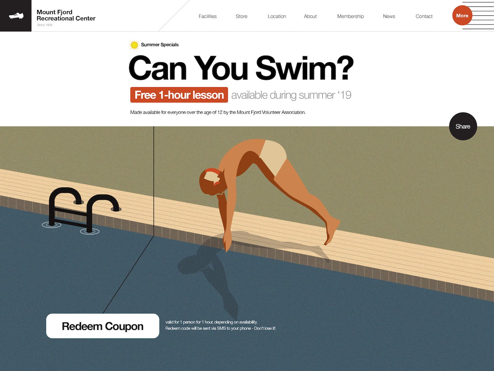 Can you swim website