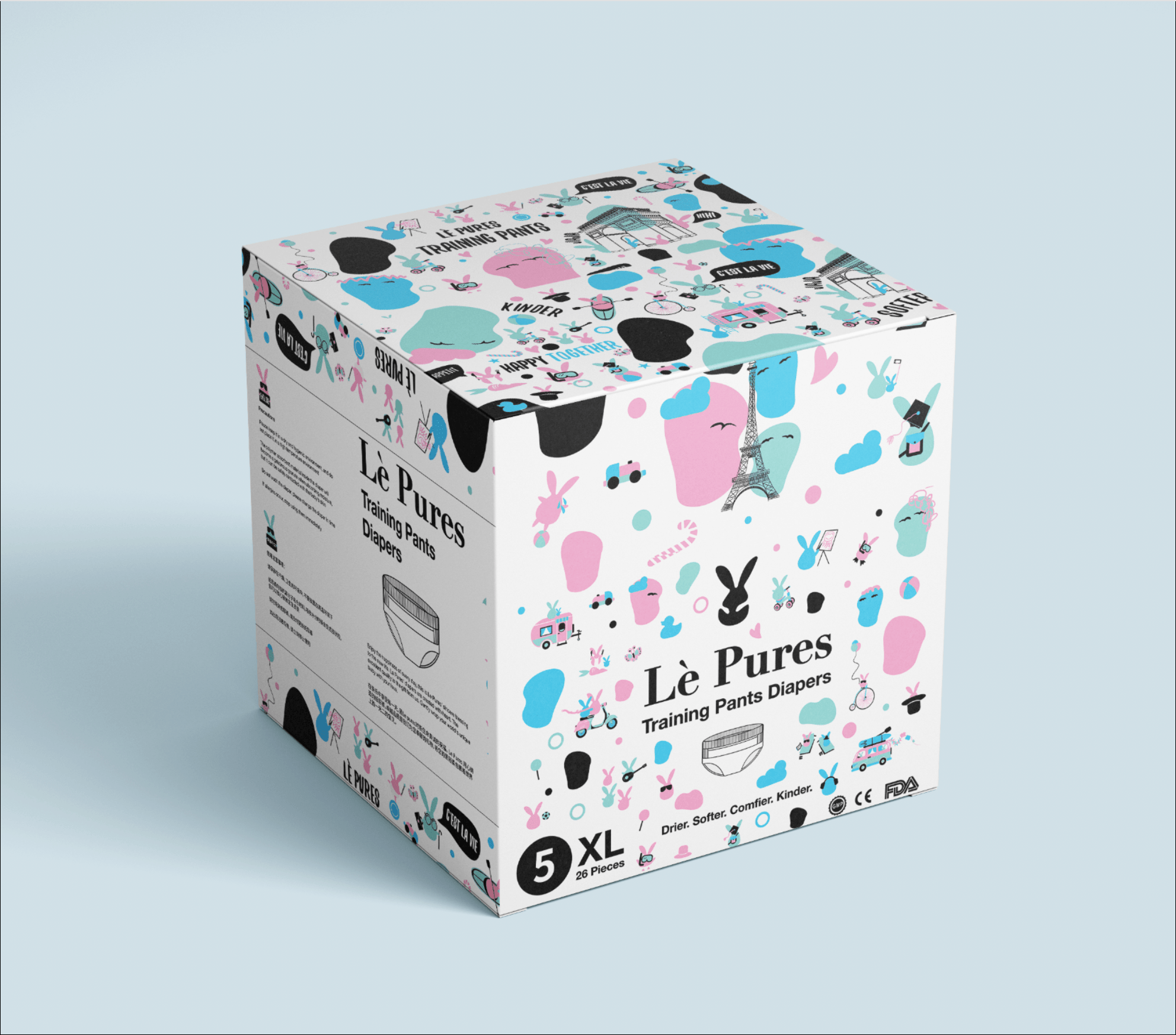 Le Pures Packaging